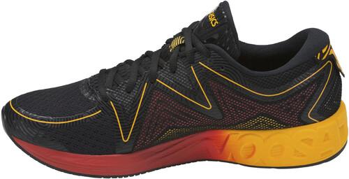 asics Noosa FF - Chaussures running Homme - noir/Multicolore US 10 MCDm81WJ5